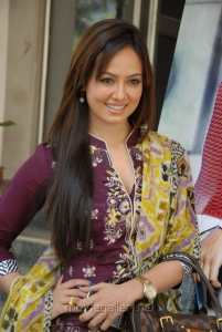 Cute Sana Khan Stills in Punjabi Dress