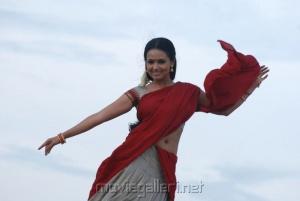 Sana Khan in Half Saree Pics
