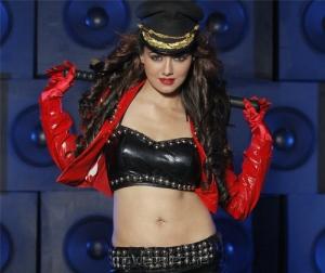 Sana Khan Hot Spicy Stills in Mr Nokia