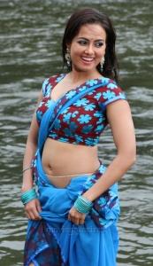 Sana Khan Hot Spicy Stills in Gajjala Gurram Movie