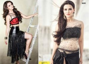 Actress Sana Khan Photoshoot For FHM Magazine