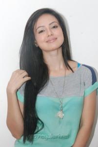 Tamil Actress Sana Khan Press Meet Stills