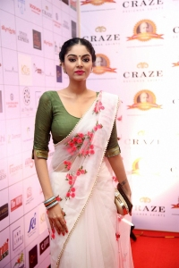Actress Sanam Shetty Photos @ Dadasaheb Phalke Awards South 2019 Red Carpet
