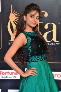 Actress Sanam Shetty Stills at International Indian Film Academy Awards Utsavam 2017