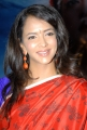 Manchu Lakshmi Prasanna in Red Saree Pics