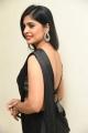 Tamil Actress Sanchita Shetty Black Saree Images