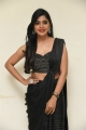Actress Sanchita Shetty Black Saree Images @ My South Diva Calendar 2021 Launch