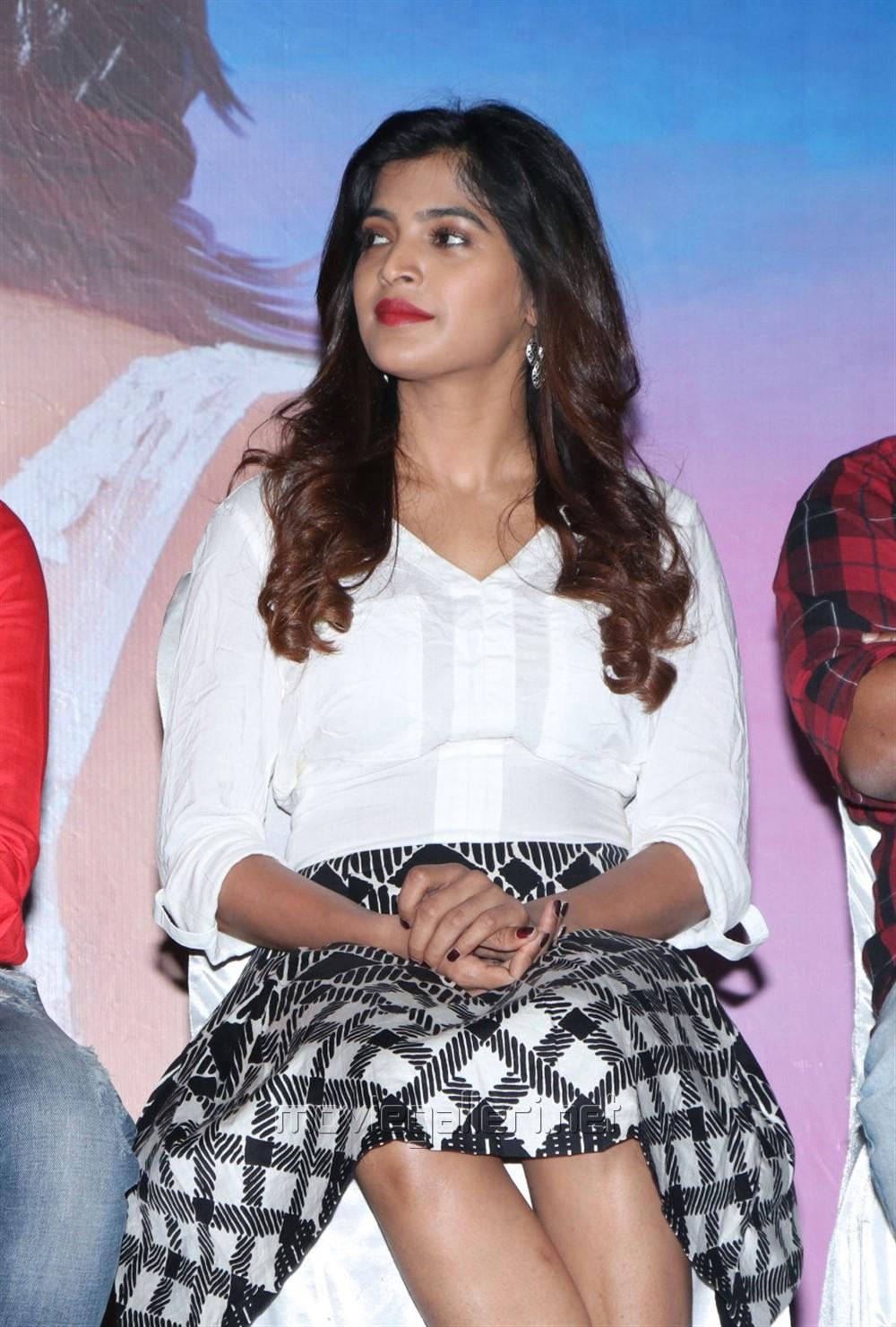 Heroine Sanchita Shetty @ Yenda Thalaiyila Yenna Vekkala Press Meet
