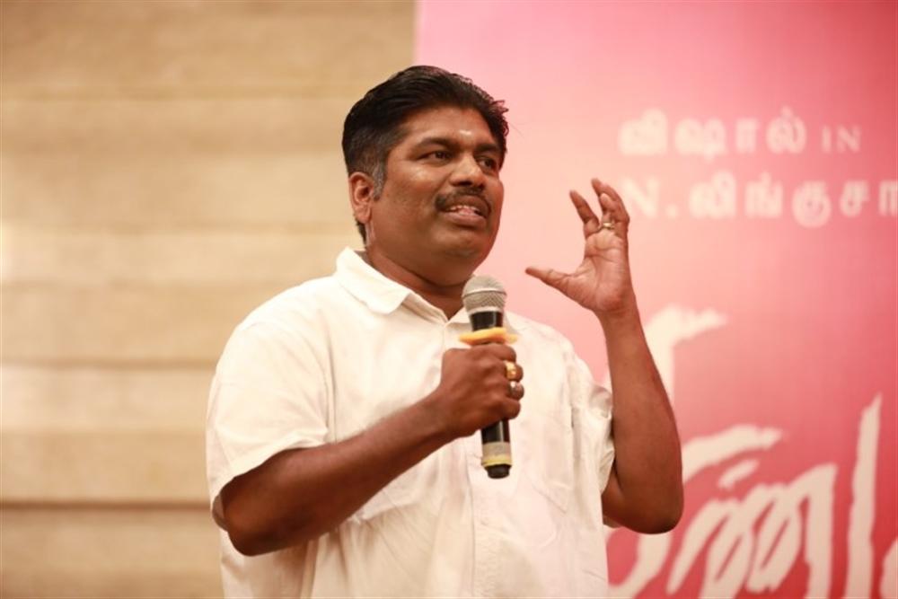 Shanmugarajan @ Sandakozhi 2 Movie Press Meet Stills