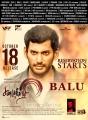Vishal as Balu in Sandakozhi 2 Movie Release Posters