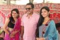 Sarathkumar, Avani Modi @ Sandamarutham Movie Launch Stills