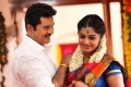 Sarath Kumar, Meera Nandan in Sandamarutham Movie Photos