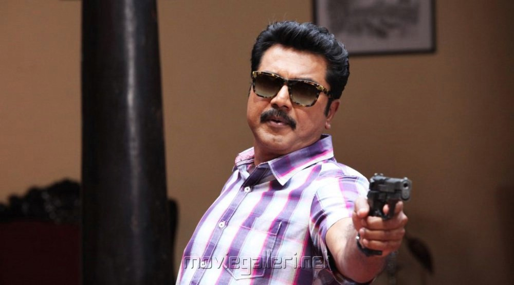 Actor Sarathkumar in Sandamarutham Tamil Movie Stills