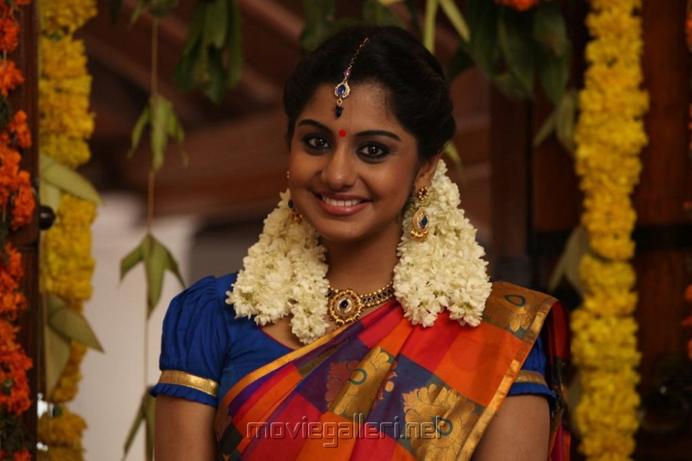 Actress Meera Nandan in Sandamarutham Tamil Movie Stills
