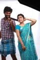 Rajkamal, Manasa in Sandi Kuthirai Movie Photos
