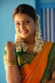 Actress Sandra Prajin in Silk Saree Photos in Dharani Movie