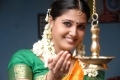 Actress Sandra Jose in Silk Saree Photos in Dharani Movie