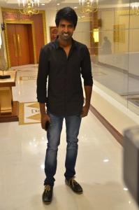Actor Soori @ Sangili Bungili Kadhava Thorae Success Meet Stills