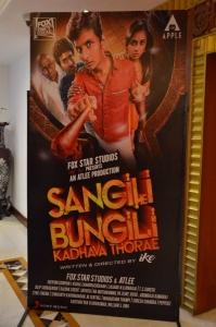 Jiiva, Ike, Soori @ Sangili Bungili Kadhava Thorae Success Meet Stills