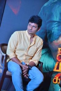 Actor Jiiva @ Sangili Bungili Kadhava Thorae Success Meet Stills