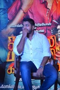 Director Ike @ Sangili Bungili Kadhava Thorae Success Meet Stills