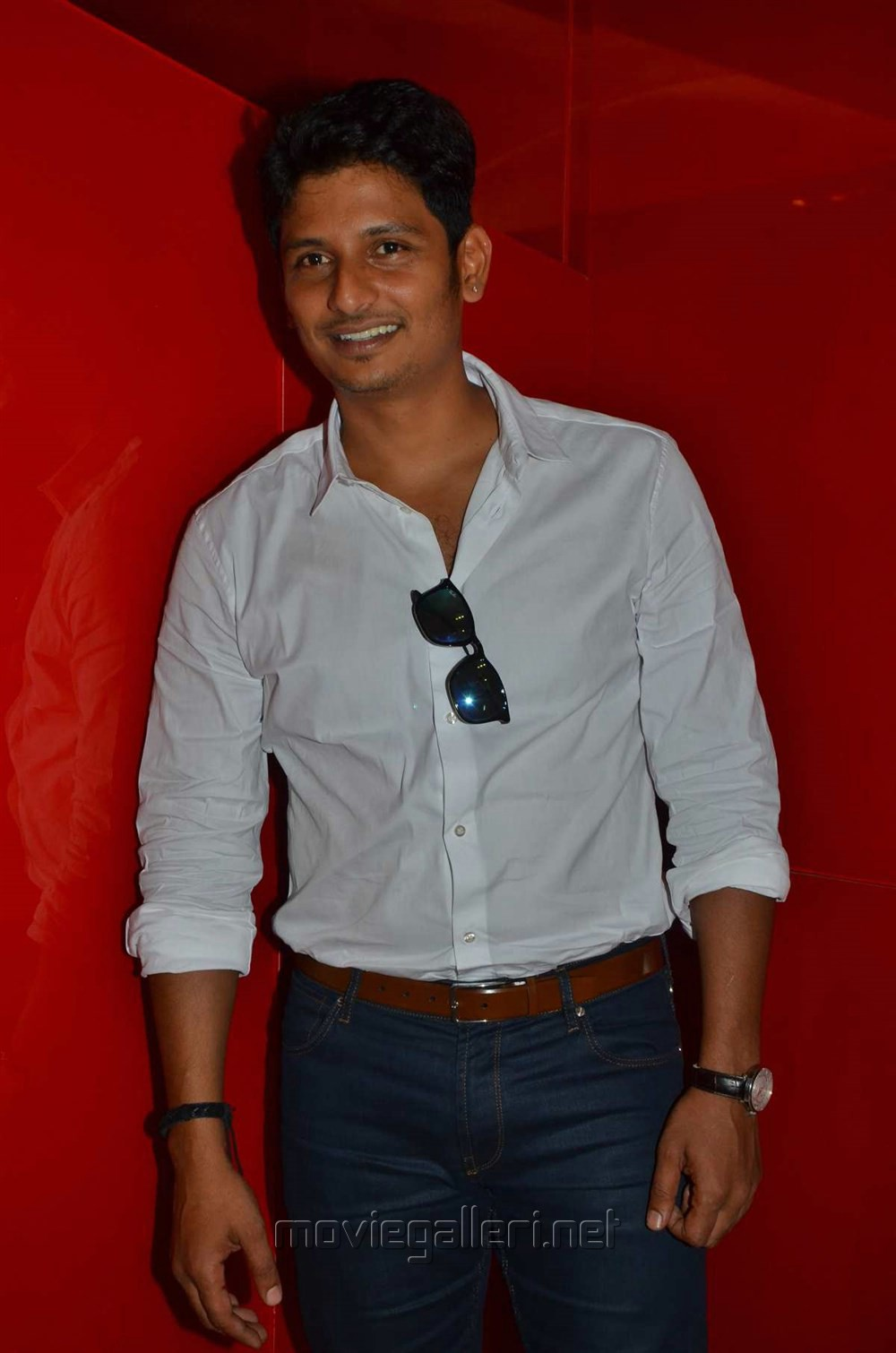 Actor Jeeva @ Sangili Bungili Kathava Thora Audio Launch Stills