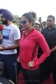 Tennis Player Sania Mirza Latest Hot Photos in Pink Dress