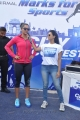 Sania Mirza participates at NDTV-Nirmal Walk for Fitness