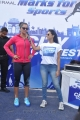 Sania Mirza at NDTV-Nirmal 'Walk for Fitness' Walkathon Photos
