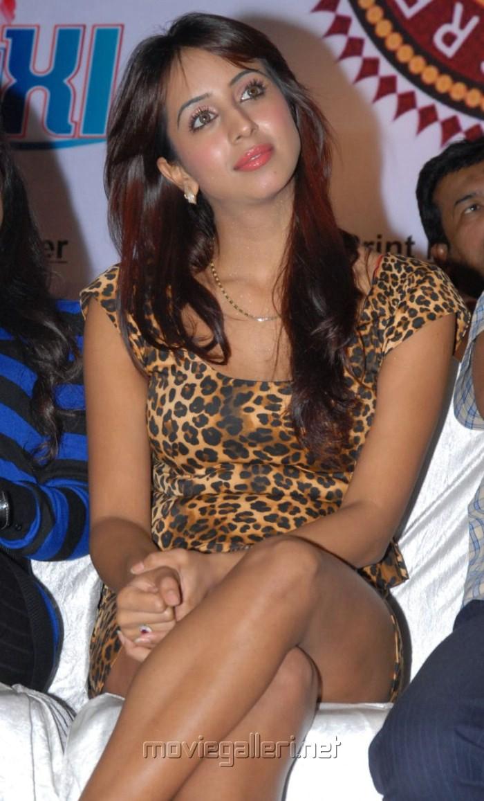 Actress Sanjana Latest Hot Photos at CCC 2012 Press Meet