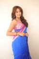 Telugu Actress Sanjana Hot Saree Stills