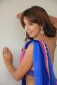 Sanjana Hot Saree Stills at Jagan Nirdoshi Press Meet