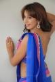 Telugu Actress Sanjjanaa Hot in Saree Stills