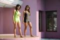 Sanjana Galrani Tashu Kaushik Hot Swimsuit Stills