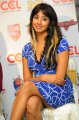 Sanjana Latest Hot Stills @ CCL Press Meet