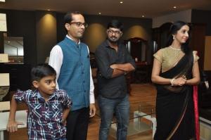 Actress Sanjana Galrani inaugurated Durian Furniture Showroom at Chennai
