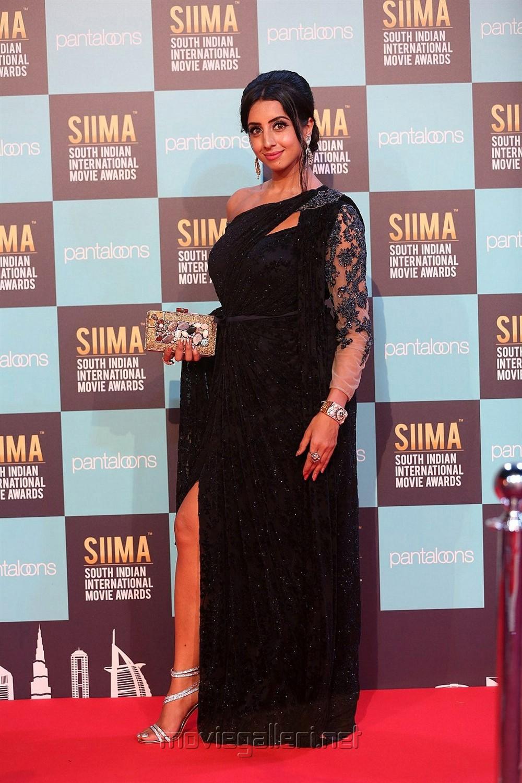 Actress Sanjana Photos @ SIIMA Awards 2018 Red Carpet (Day 1)