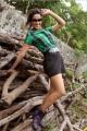 Sanjana Singh Stills in Yaarukku Theriyum