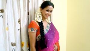 Sanjana Singh Photo Shoot Pics in Saree
