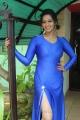 Sanjana Singh Hot Images in Tight Blue Dress