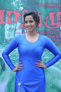 Sanjana Singh Latest Spicy Stills @ Marumugam Audio Release