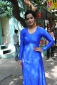 Actress Sanjana Singh Images in Tight Blue Dress