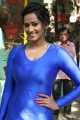 Sanjana Singh Hot Images in Tight Blue Dress
