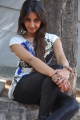 Actress Sanjana Latest Stills in T-Shirt and Jeans