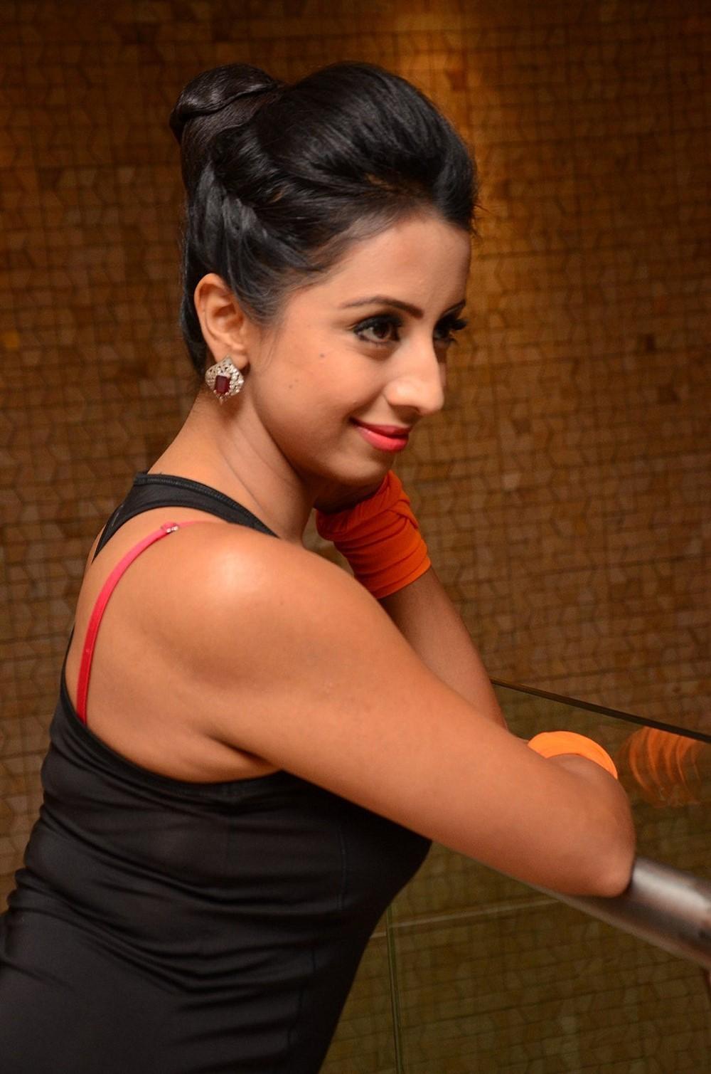 Actress Sanjjanaa Galrani Photos @ World Yoga Day Celebrations