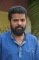 Director Ameer @ Santhana Devan Movie First Look Launch Stills