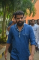 Director Ameer @ Santhana Thevan Movie First Look Launch Stills