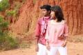 Kaushik Ram, Tanvi Ganesh Lonkar in Santhithen Unnai Movie Stills