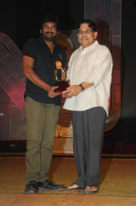 Puri Jagannath, Allu Aravind at Santosham Film Awards 2012 Function Stills