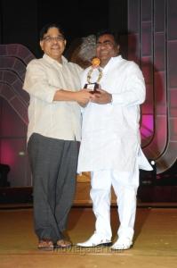 Allu Aravind, Babu Mohan at Santosham Film Awards 2012 Function Stills